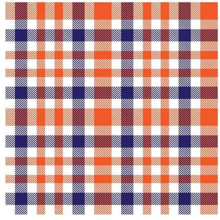Kleurrijke klassieke moderne geruite tartan naadloze print/patroon in vector - Dit is een klassiek geruit (geruit/geruit) patroon geschikt voor het bedrukken van overhemden, jacquardpatronen, achtergronden voor verschillende media en websites