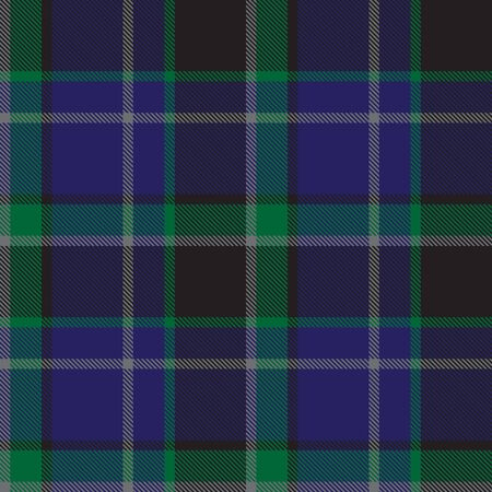 This is a classic plaid, checkered, tartan pattern suitable for shirt printing, fabric, textiles, jacquard patterns, backgrounds and websites Vetores