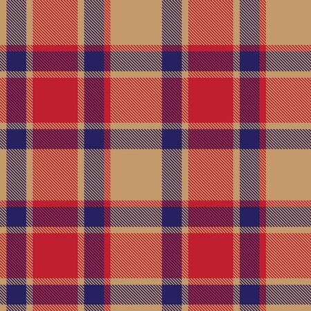 Este es un patrón clásico de cuadros escoceses, cuadros y tartán adecuado para la impresión de camisas, telas, textiles, patrones de jacquard, fondos y sitios web.