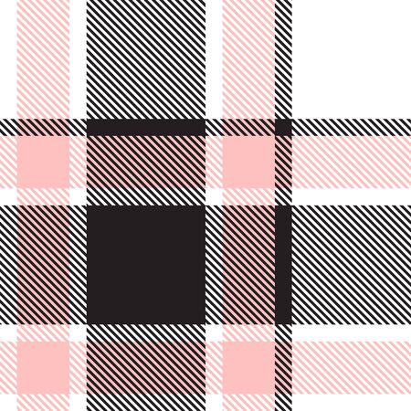 This is a classic plaid, checkered, tartan pattern suitable for shirt printing, fabric, textiles, jacquard patterns, backgrounds and websites Illustration