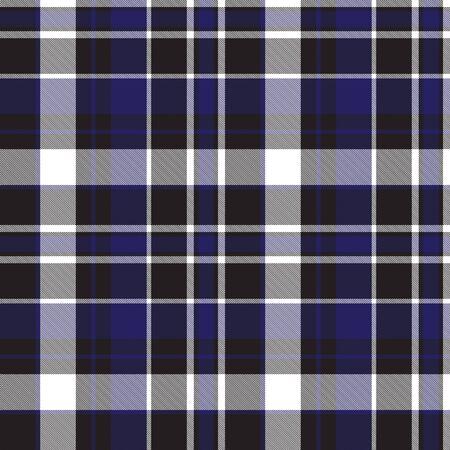Classic plaid, checkered, tartan pattern