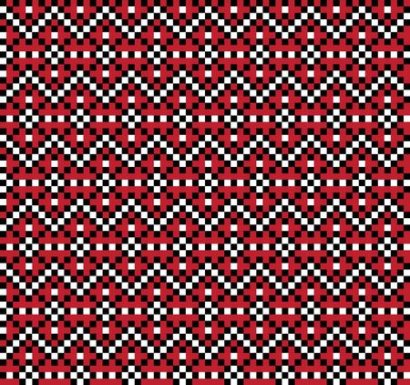 a fair isle snowflake pattern suitable for website resources, graphics, print designs, fashion textiles, knitwear and etc.