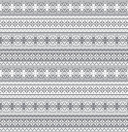motivo fiocco di neve fair isle adatto per risorse di siti Web, grafica, design di stampa, tessuti di moda, maglieria e così via.