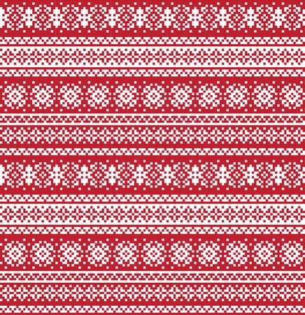 fair isle snowflake pattern suitable for website resources, graphics, print designs, fashion textiles, knitwear and etc.