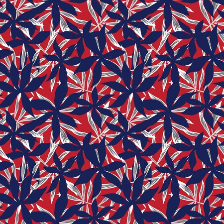 a tropical floral pattern suitable for fashion prints, swimwear, backgrounds, websites, wallpaper, crafts
