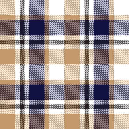 A classic plaid, checkered, tartan pattern