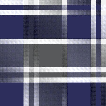 This is a classic plaid, checkered, tartan pattern suitable for shirt printing, fabric, textiles, jacquard patterns, backgrounds and websites Stock Illustratie