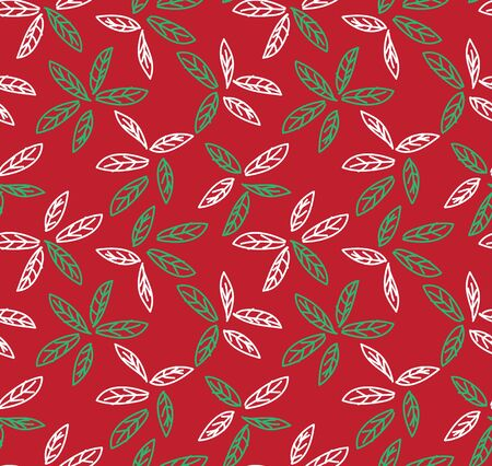 It is a botanical leaf pattern suitable for fashion prints, backgrounds, websites, wallpaper, crafts