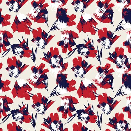This is an abstract brushstrokes pattern suitable for fashion prints, patterns and backgrounds