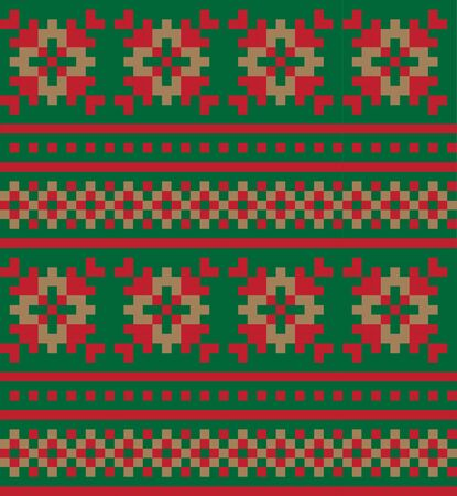 This is a fair isle snowflake pattern suitable for website resources, graphics, print designs, fashion textiles, knitwear and etc.