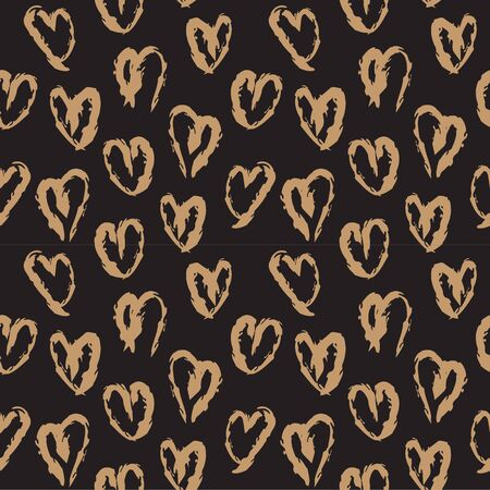 This is a heart shape brushstrokes pattern suitable for valentine's day, fashion prints, patterns and backgrounds