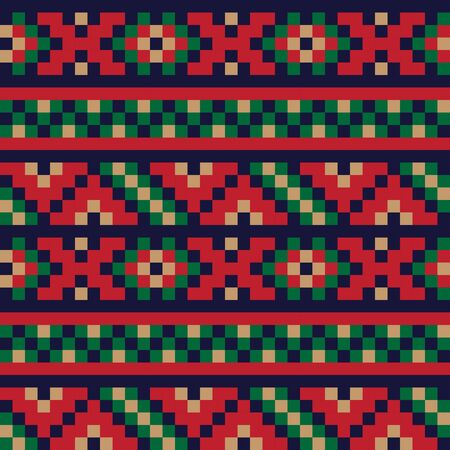 This is a fair isle pattern suitable for website resources, graphics, print designs, fashion textiles, knitwear, etc.
