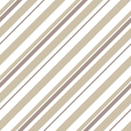 Brown Taupe diagonal striped seamless pattern background suitable for fashion textiles, graphics Иллюстрация