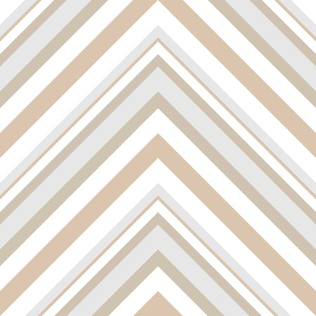 Brown Taupe Chevron diagonal striped seamless pattern background suitable for fashion textiles, graphics Иллюстрация