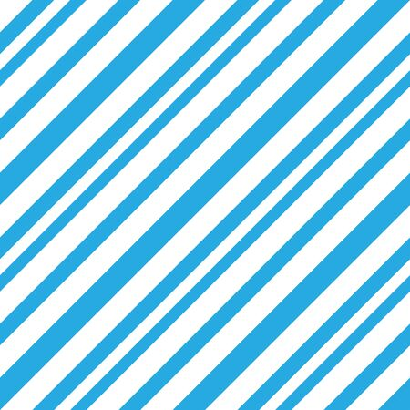 Blue diagonal striped seamless pattern background suitable for fashion textiles, graphics