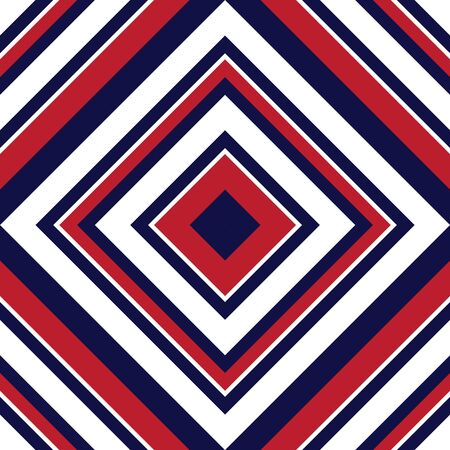 Red Argyle striped seamless pattern background suitable for fashion textiles, graphics Иллюстрация