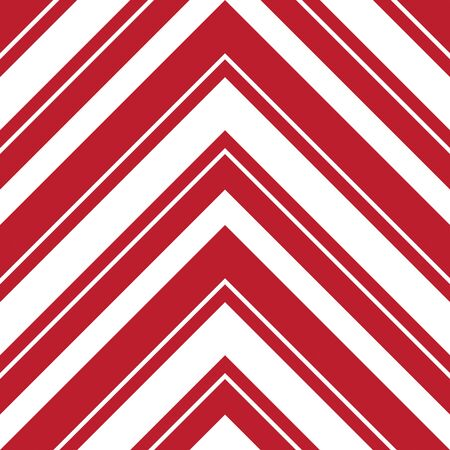 Red Chevron diagonal striped seamless pattern background suitable for fashion textiles, graphics