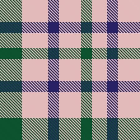 Pink Plaid, checkered, tartan seamless pattern suitable for fashion textiles and graphics