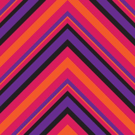 Purple Chevron diagonal striped seamless pattern background suitable for fashion textiles, graphics