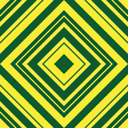 Yellow Argyle diagonal striped seamless pattern background suitable for fashion textiles, graphics