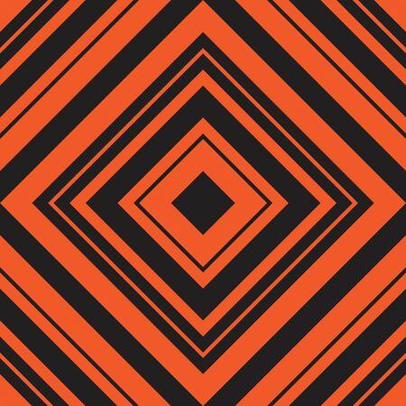 Orange Argyle diagonal striped seamless pattern background suitable for fashion textiles, graphics