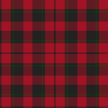 Christmas Plaid, checkered, tartan seamless pattern suitable for fashion textiles and graphics Vectores