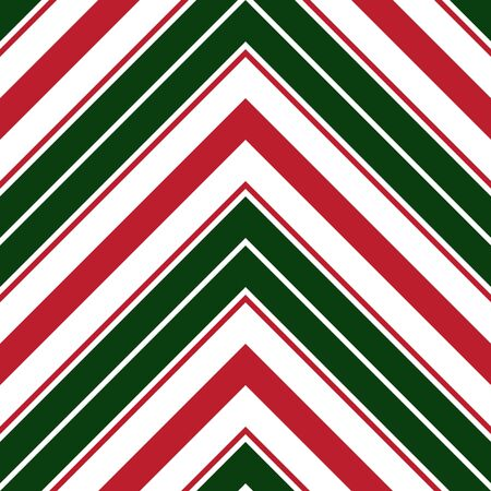 Christmas Chevron diagonal striped seamless pattern background suitable for fashion textiles, graphics