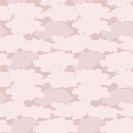 Pink Camouflage abstract seamless pattern background suitable for fashion textiles, graphics 스톡 콘텐츠 - 147740177