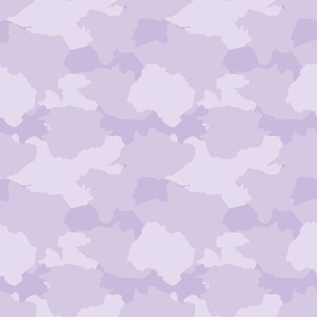 Purple Camouflage abstract seamless pattern background suitable for fashion textiles, graphics