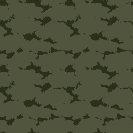 Green Camouflage abstract seamless pattern background suitable for fashion textiles, graphics