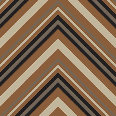 Brown Taupe Chevron diagonal striped seamless pattern background suitable for fashion textiles, graphics 向量圖像