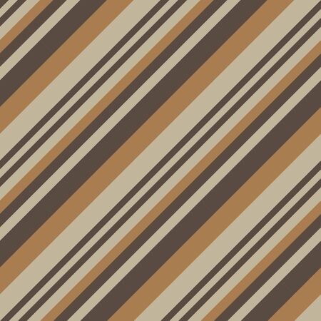 Brown Taupe diagonal striped seamless pattern background suitable for fashion textiles, graphics 向量圖像