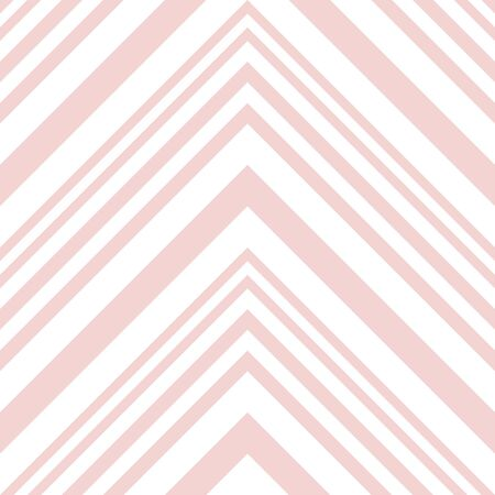 Pink Chevron diagonal striped seamless pattern background suitable for fashion textiles, graphics