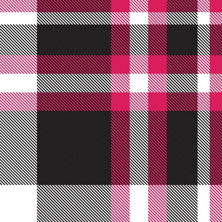 Purple Plaid, checkered, tartan seamless pattern suitable for fashion textiles and graphics Иллюстрация