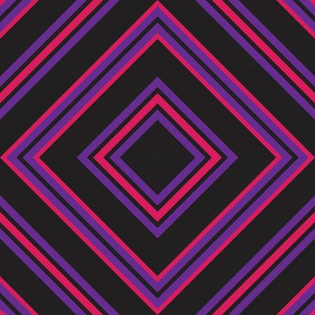 Purple Argyle diagonal striped seamless pattern background suitable for fashion textiles, graphics Иллюстрация