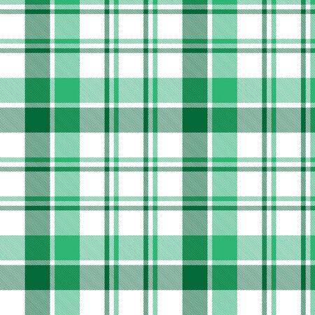 Plaid vert, damier, motif sans couture tartan adapté aux textiles de mode et aux graphiques