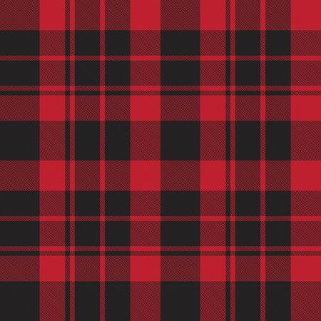Red Plaid, checkered, tartan seamless pattern suitable for fashion textiles and graphics