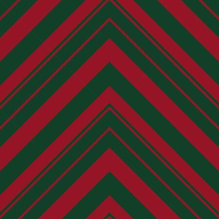 Christmas Chevron diagonal striped seamless pattern background suitable for fashion textiles, graphics