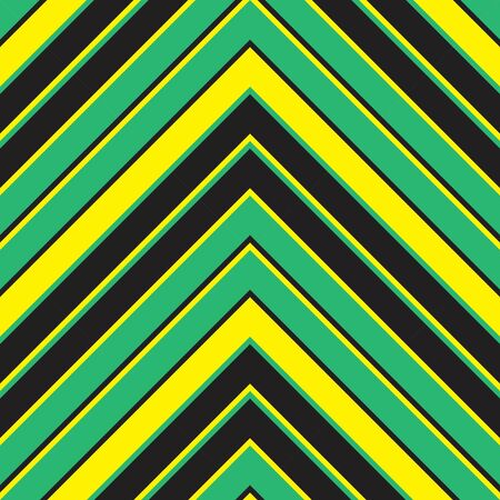 Yellow Chevron diagonal striped seamless pattern background suitable for fashion textiles, graphics