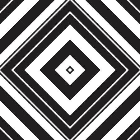 Black and white Argyle diagonal striped seamless pattern background suitable for fashion textiles, graphics