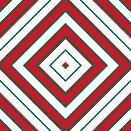 Christmas Argyle diagonal striped seamless pattern background suitable for fashion textiles, graphics