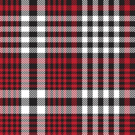 Red Glen Plaid textured seamless pattern suitable for fashion textiles and graphics Banque d'images - 150036322
