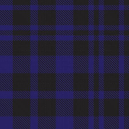 Blue Glen Plaid textured seamless pattern suitable for fashion textiles and graphics Banque d'images - 150034604