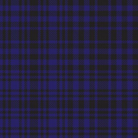 Blue Glen Plaid textured seamless pattern suitable for fashion textiles and graphics Banque d'images - 150034620