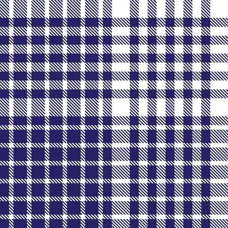 Blue Glen Plaid textured seamless pattern suitable for fashion textiles and graphics Banque d'images - 150034625