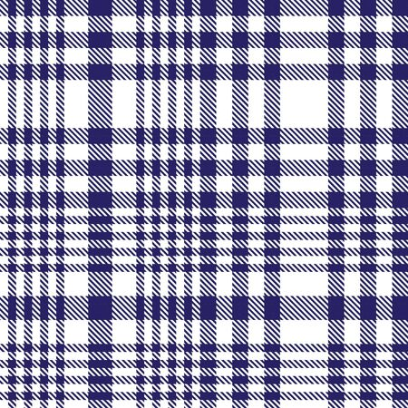 Blue Glen Plaid textured seamless pattern suitable for fashion textiles and graphics Banque d'images - 150034642