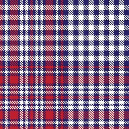 Blue Glen Plaid textured seamless pattern suitable for fashion textiles and graphics Banque d'images - 150034648