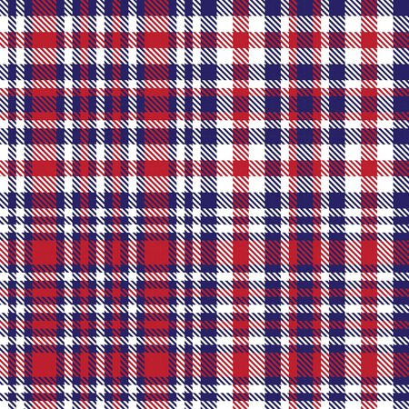 Blue Glen Plaid textured seamless pattern suitable for fashion textiles and graphics Banque d'images - 150034651