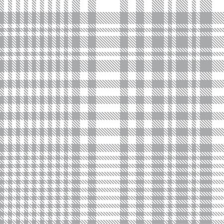 White Glen Plaid textured seamless pattern suitable for fashion textiles and graphics Banque d'images - 150196686
