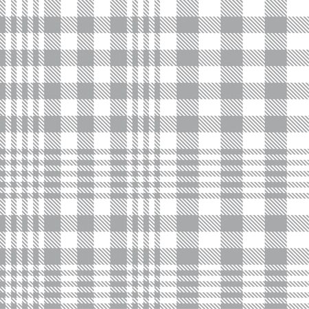 White Glen Plaid textured seamless pattern suitable for fashion textiles and graphics Banque d'images - 150196960